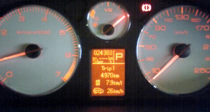 Peugeot, プジョー,407,燃費