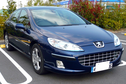 Peugeot,プジョー,407,ユーロナンバー