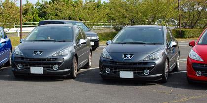 Peugeot,407,プジョー,207