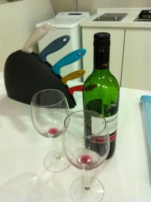 嬉しかった乾杯ワイン