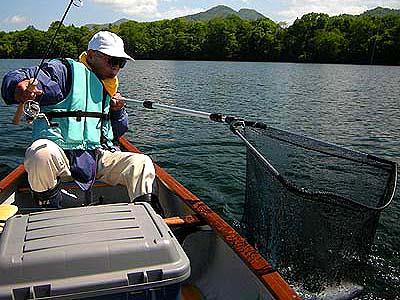 20120615 屈斜路湖カヌーフィッシング その2
