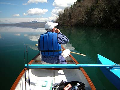 屈斜路湖でカヌー体験 半日コース