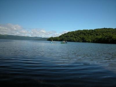 屈斜路湖でカヌー体験&フィッシング