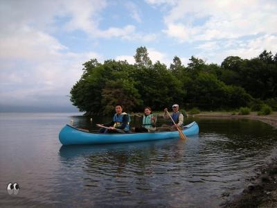 屈斜路湖でお手軽カヌー体験
