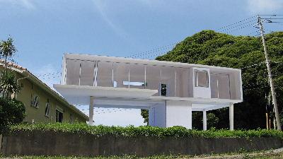 太夫崎の家_模型