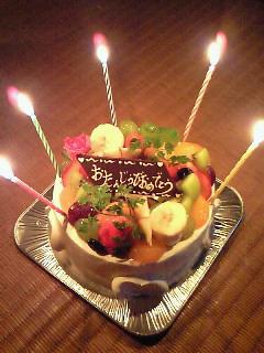 お誕生日あめでとう