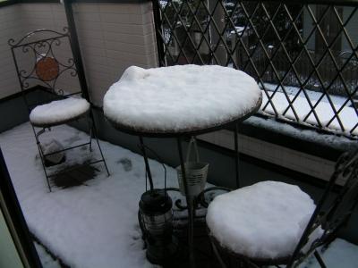 雪景色_ベランダ