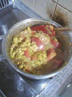 挽肉と玉葱