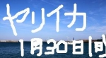 1月30日ヤリイカ出船