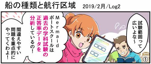 ボート免許学科試験1月号