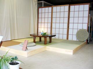 斉藤畳店の展示場