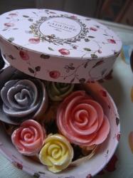 薔薇のチョコ