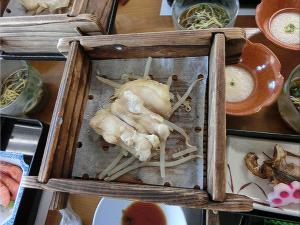 鶏のセイロ蒸し