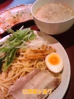 モンゴル料理のつけ麺