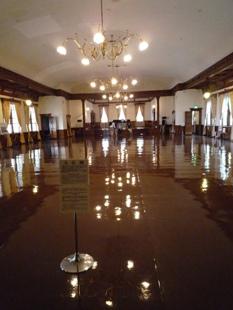 函館公会堂のホール