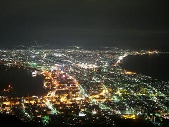 函館山より夜景(2)