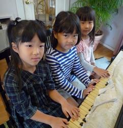 3人sでピアノ