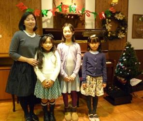 清水亜紀先生と生徒