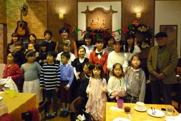 クリスマス会最終日集合写真(その2)