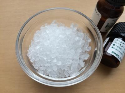 アロマオイルと天然塩