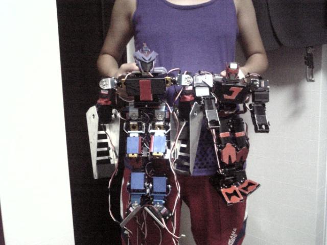 娘自作ロボットとJO-ZERO
