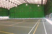 【稲取スポーツヴィラ】インドアテニスコート