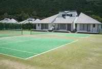 【稲取スポーツヴィラ】テニスコート