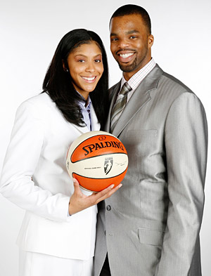 Candace Parker&Shelden Williams