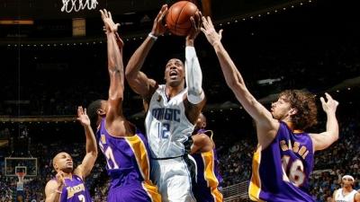 NBAファイナル。ドワイトハワード