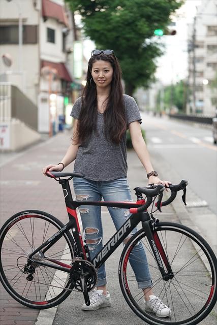 松本尚子とMERIDA REACTO400