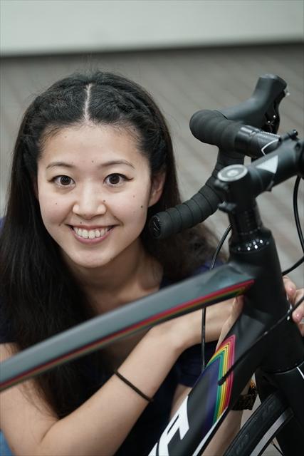 松本尚子とMERIDA RIDE400
