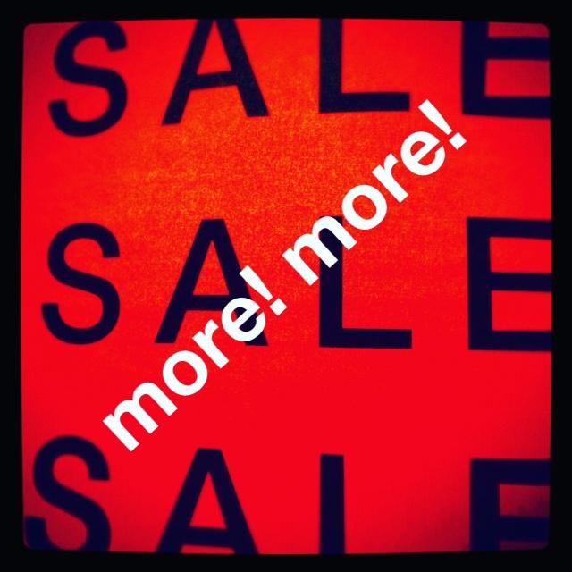 more more sale