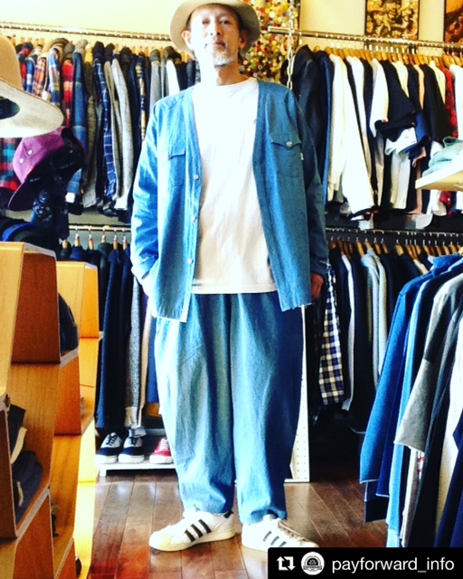 QUOLT 18ss_DENIM WESTERN SHIRTS . Wide Pants 1.JPG