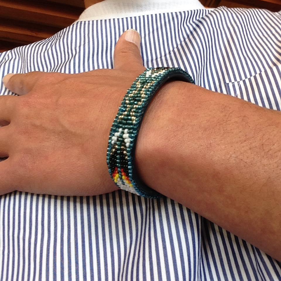 QUOLT 18ss_Beads Bangle-丸サングラス2.jpg