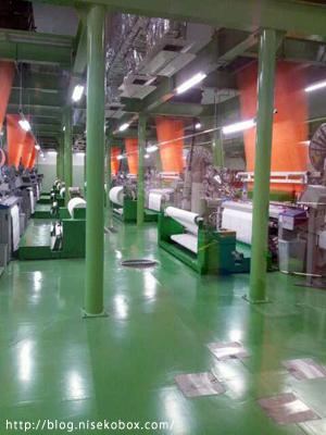 タオル美術館工場