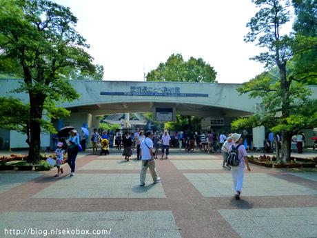とべ動物園入り口