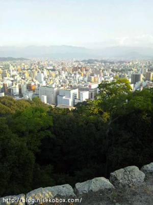 松山城・頂上