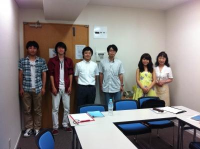 7月10日、勉強会(1)