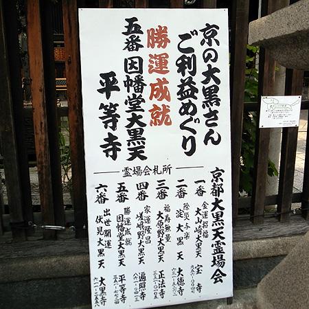 京の大黒様巡り