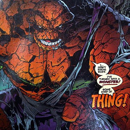 最強怪力アメコミヒーロー・ザ・シング