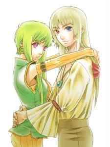 セシルとレオル