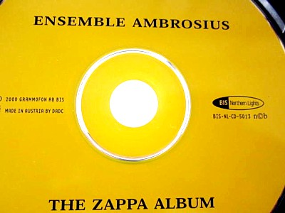 Ensemble Ambrosius The Zappa Album6