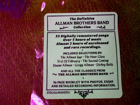 allman brothers band dreams box 4cds set