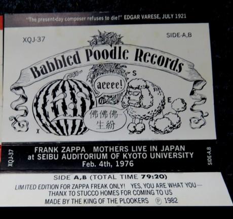 Zappa in Japan 10
