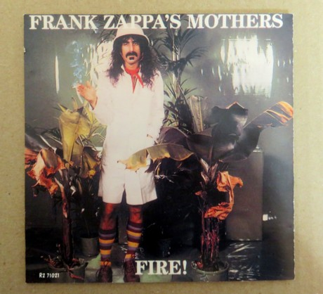 frank zappa swiss cheese fire!