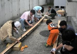 竹割り作業5