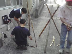竹割り作業7