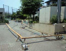 竹の仮組み1