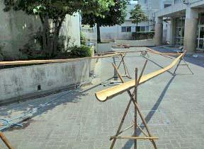 竹の仮組み2
