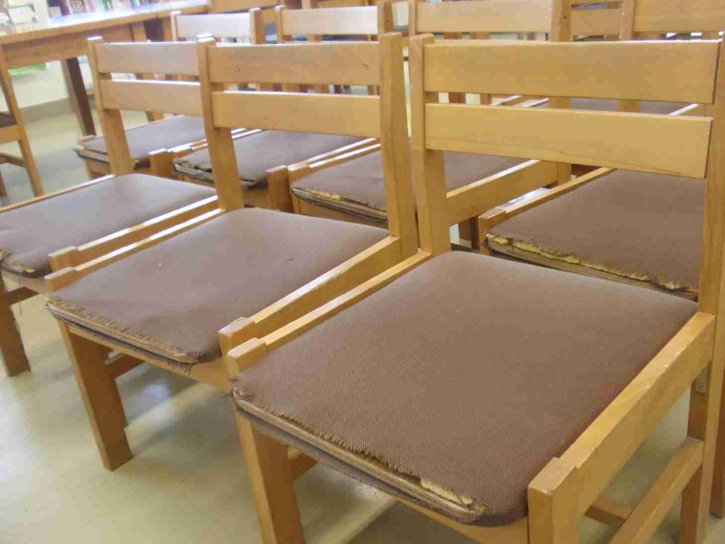 いすの修繕1